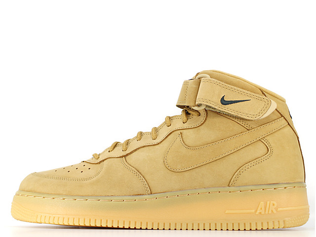 42375789f58 COLOR  FLAX FLAX-OUTDOOR GREEN  YEAR  2015  CORD  715889-200. AIR FORCE 1  MID 07 PRM QS 715889-200